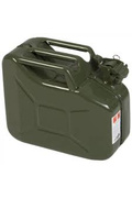 Jerrycan staal groen 5L/10L/20L