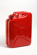 Jerrycan staal rood 20L